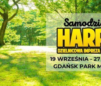 Samodzielny Harpuś – Dzielnicowa impreza na orientację: Gdańsk Park Millenium