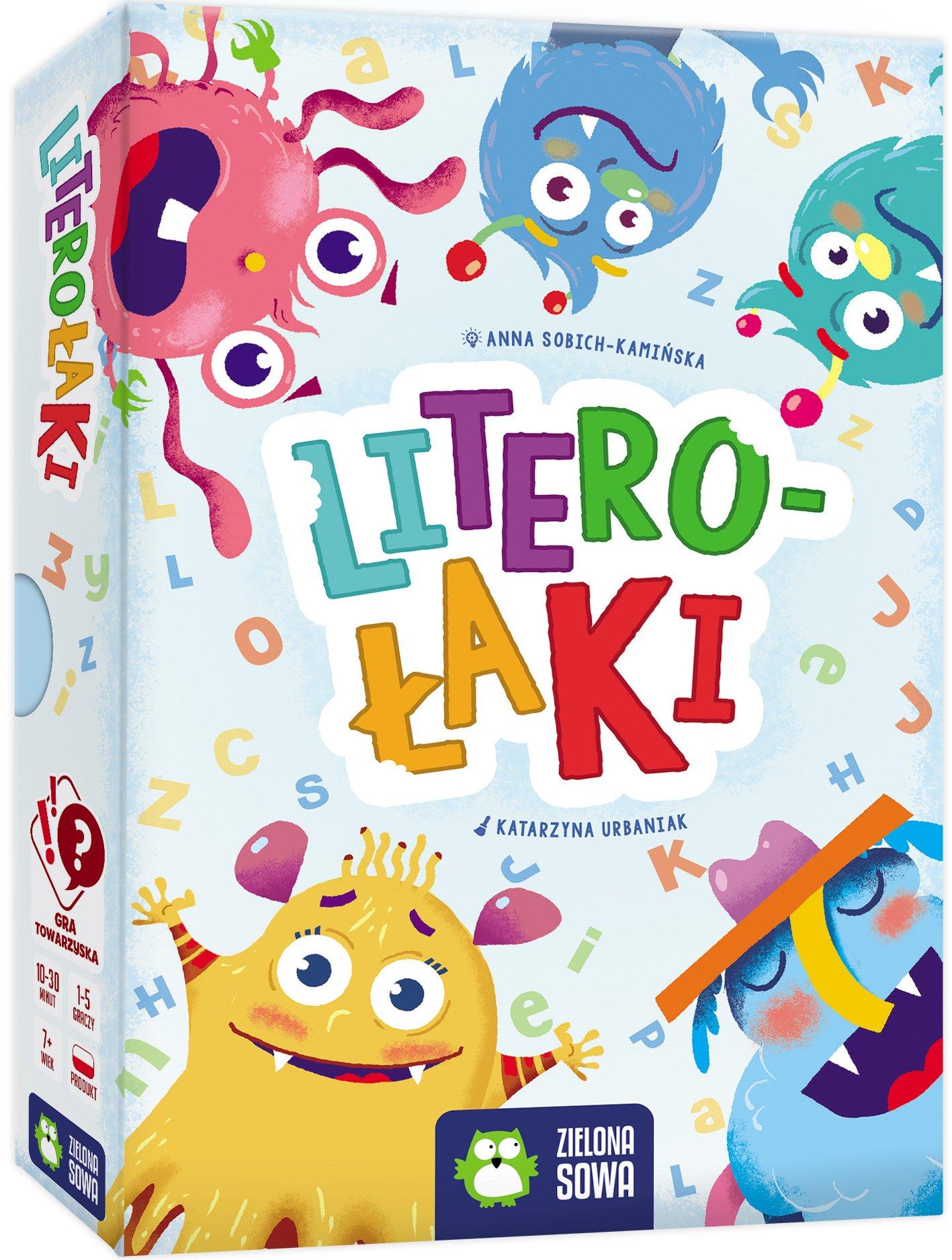 Literołaki - gra edukacyjna dla dzieci