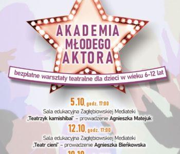 Warsztaty teatralne Akademia młodego aktora. Sosnowiec