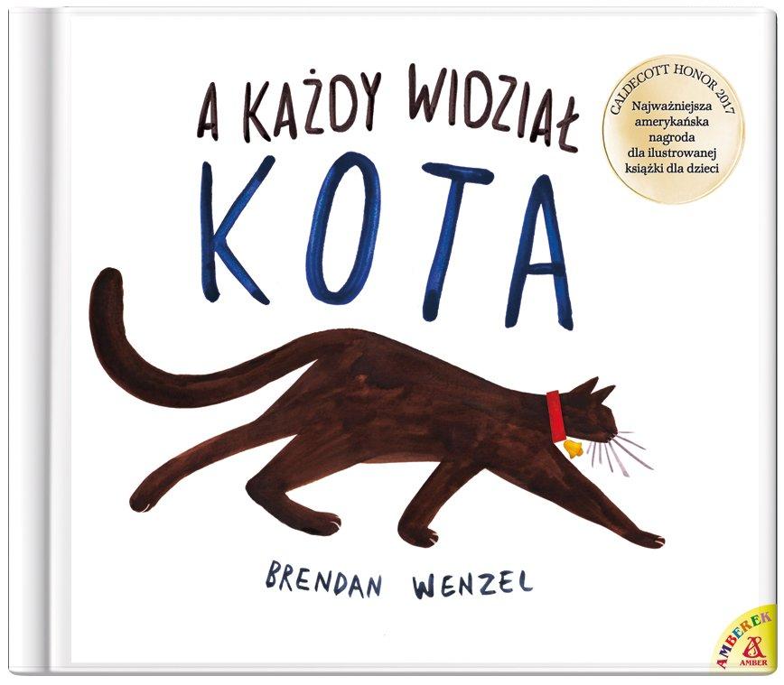 A każdy widział kota - nowe wydanie unikatowej książki