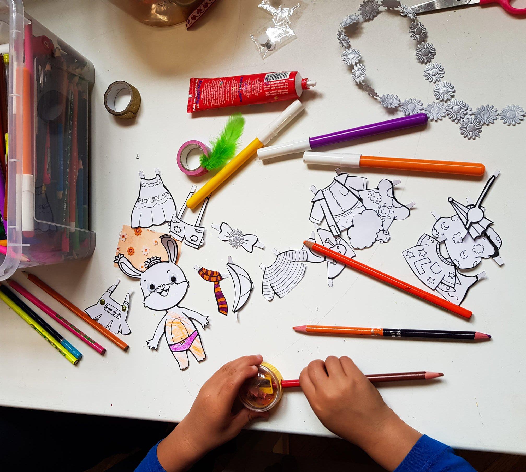 Zajęcia artystyczne dla dzieci w wieku 3+