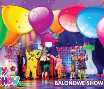 Interaktywne widowisko balonowe dla całej rodziny, czyli Funny Balls Show!