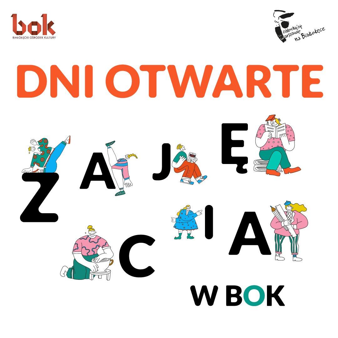 Dni Otwarte Zajęć w Białołęckim Ośrodku Kultury