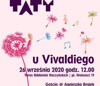CZYTATY 4 pory roku: u Vivaldiego. Bezpłatne spotkanie w Bibliotece