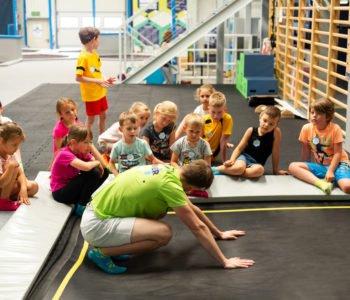 Zajęcia ogólnorozwojowe dla 5-7 latków w Parku Trampolin SALTOS