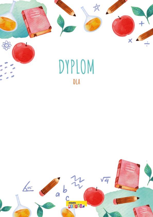 Dyplomy pdf do druku. bezpłatne dyplomy dla dzieci do pobrania