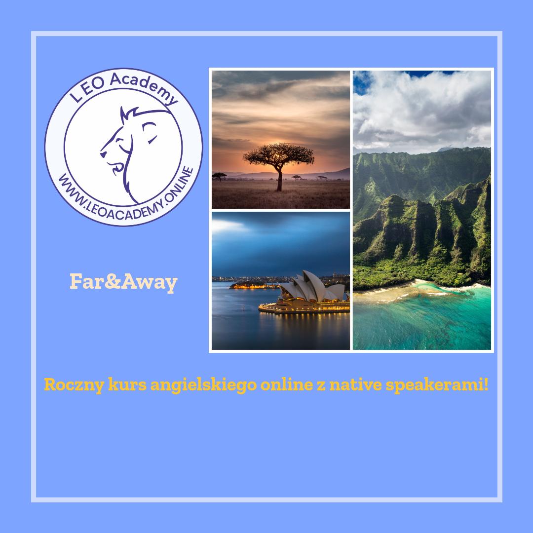 Roczny kurs angielskiego online pełen egzotyki!