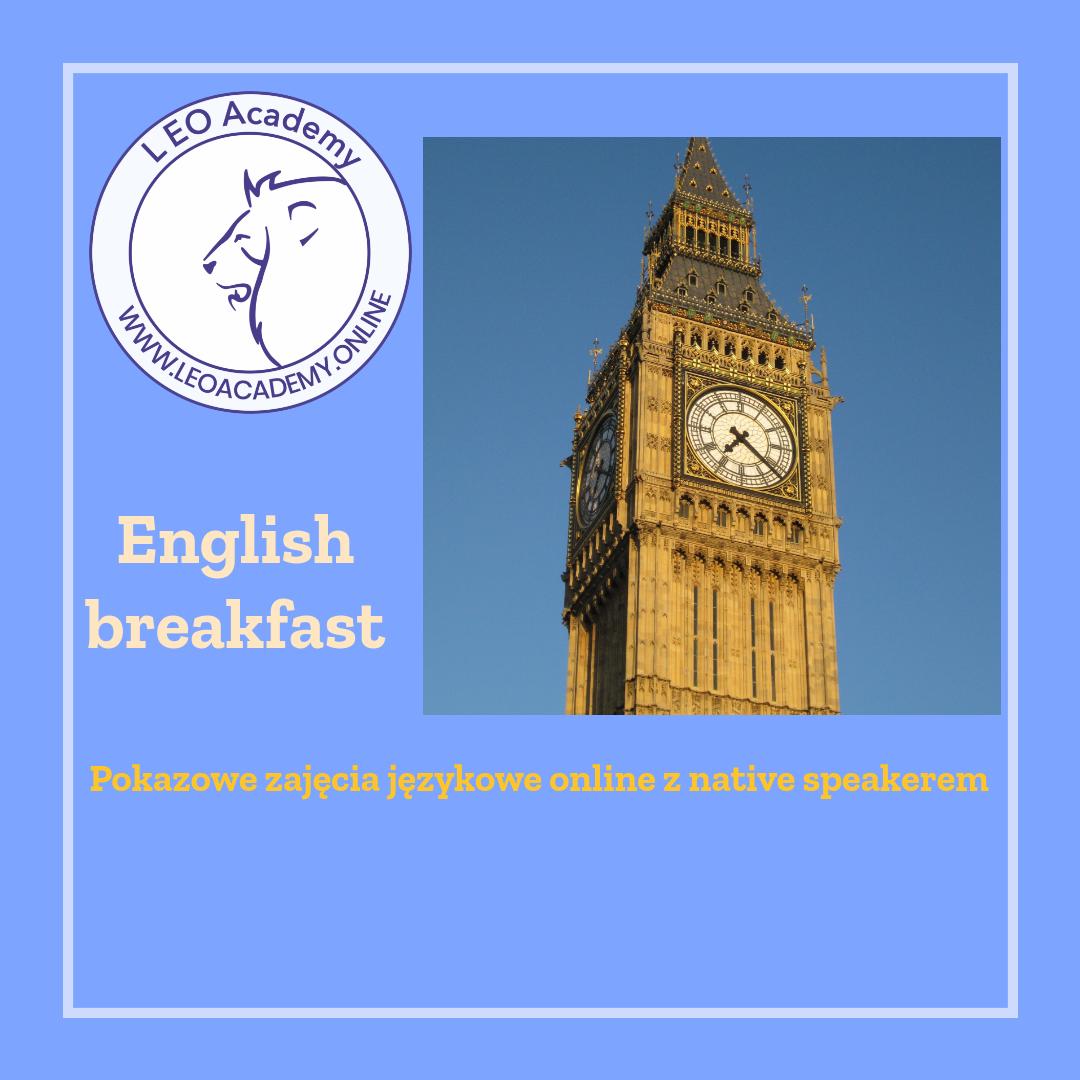 English Breakfast - pokazowe zajęcia językowe online