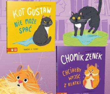 Książki o emocjach - seria dla najmłodszych dzieci