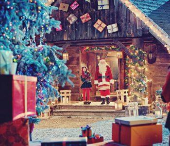 Elf i Święty Mikołaj