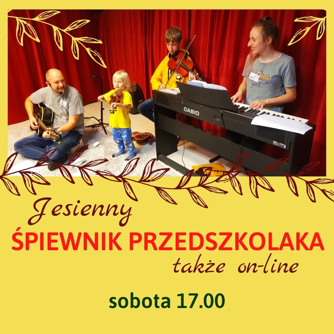Śpiewnik Przedszkolaka – bezpłatne zajęcia familijne