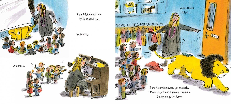 Jak schować Lwa w szkole - wznowienie książki
