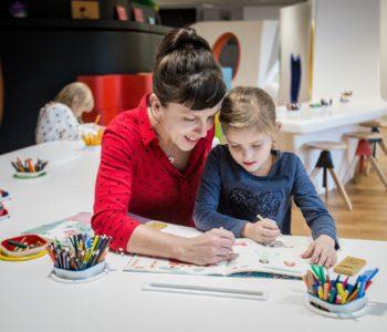 """Miejsce Edukacji Rodzinnej """"U Króla Maciusia"""" w Muzeum POLIN"""