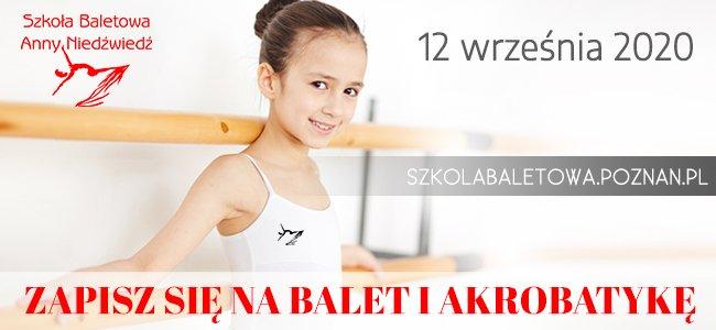 Rekrutacja do Szkoły Baletowej Anny Niedźwiedź