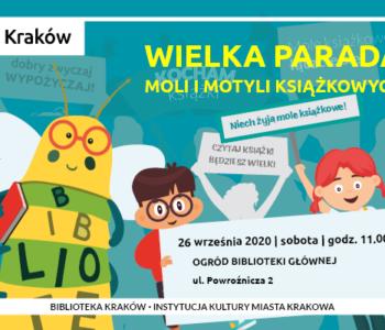 Wielka parada moli i motyli książkowych w Bibliotece Kraków