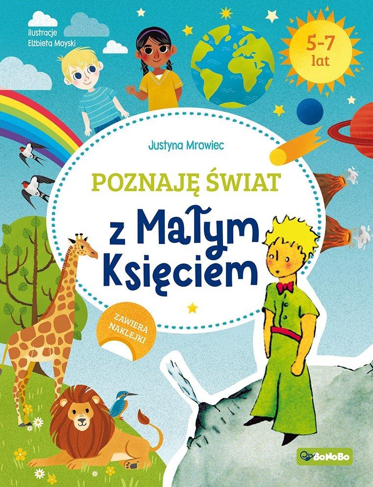 Poznaję świat z Małym Księciem - książka z zagadkami i zadaniami