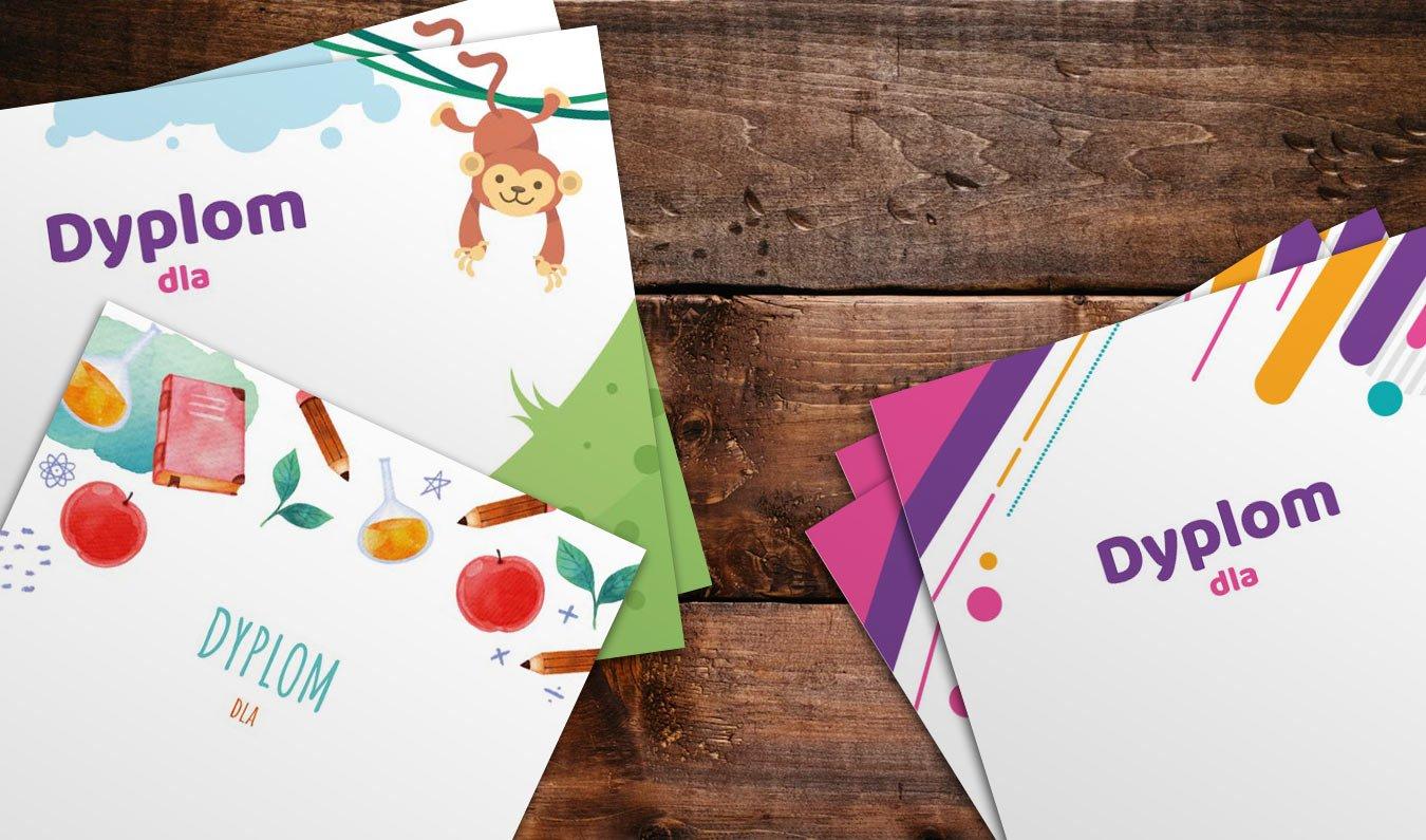 Dyplomy do druku pdf szablony dyplomów dla dzieci do wypisania bezpłatne dyplomy