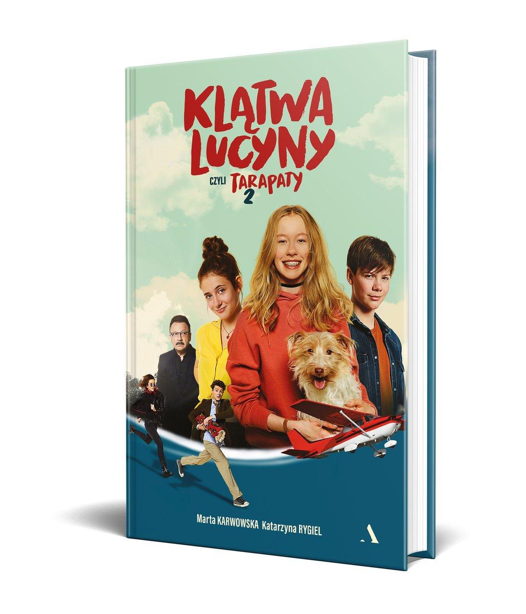 Tarapaty 2 Klątwa Lucyny recenzja książki