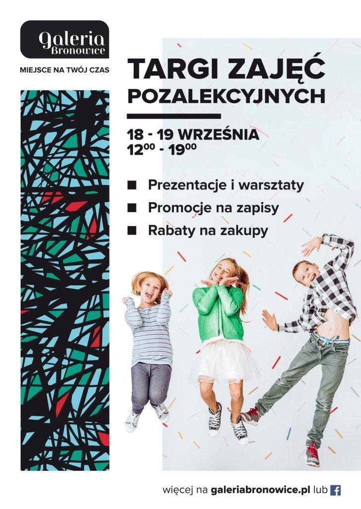 Targi Zajęć Pozalekcyjnych w Galerii Bronowice