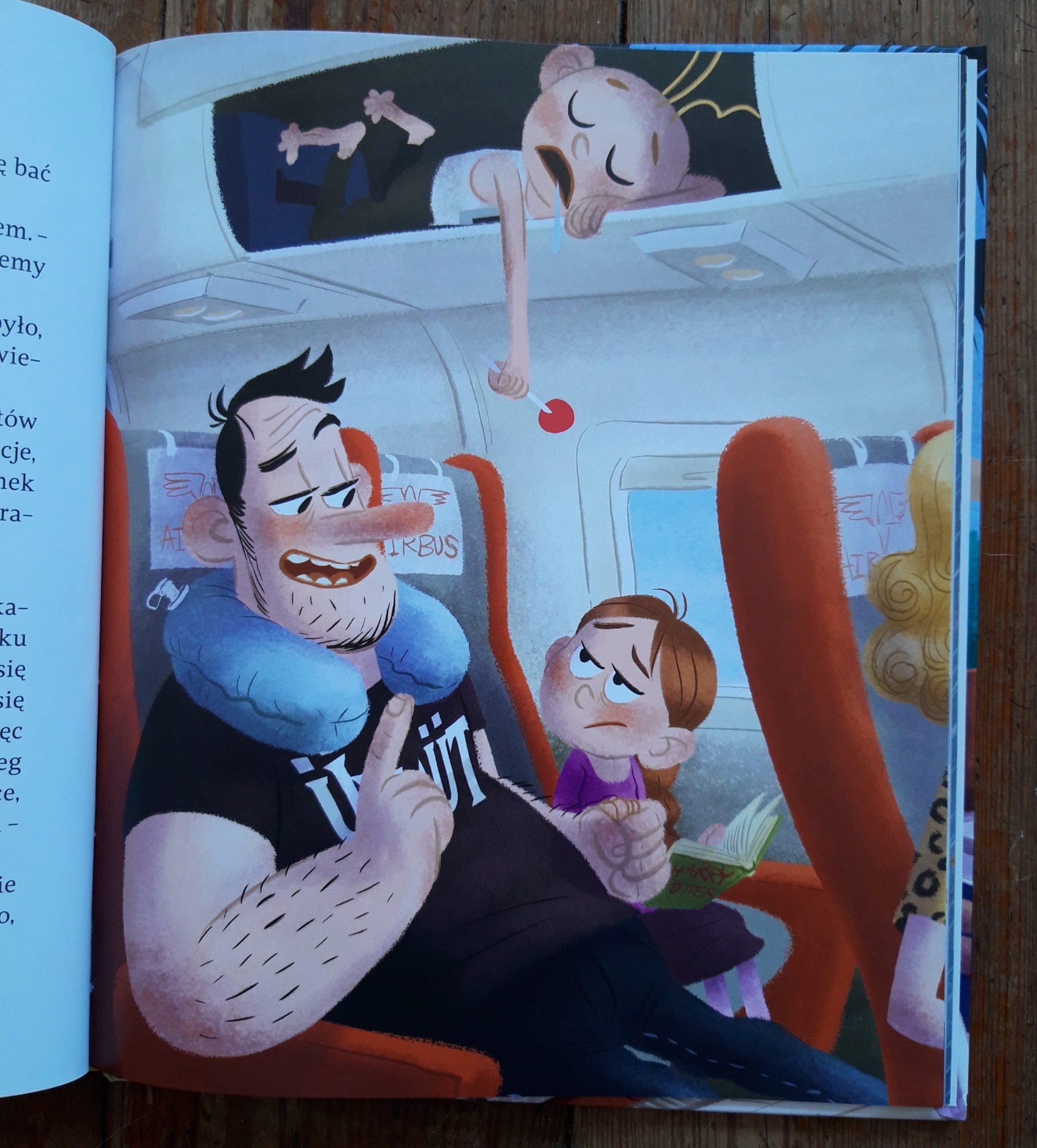 Zwariowane wakacje taty Oli, recenzja książki
