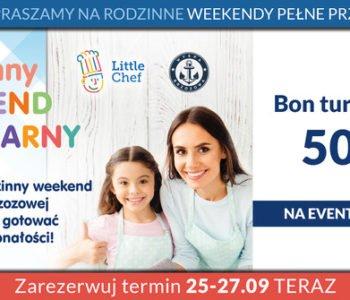 Rodzinny weekend kulinarny – wykorzystaj bon turystyczny!