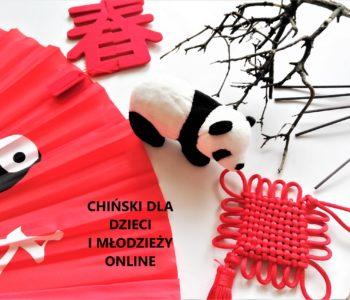 Czas na chiński dla dzieci i młodzieży online