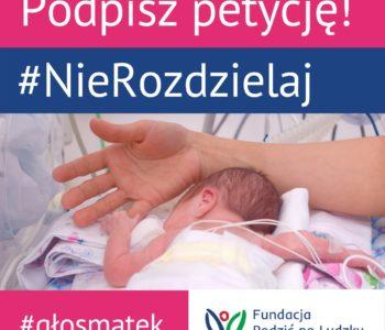 STOP rozdzielaniu dzieci od rodziców - podpisz petycję!