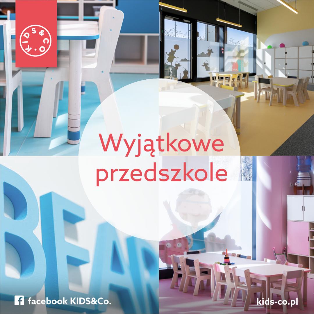 KIDS&Co. Rekrutacja w Międzynarodowych Przedszkolach i Żłobkach nadal trwa!