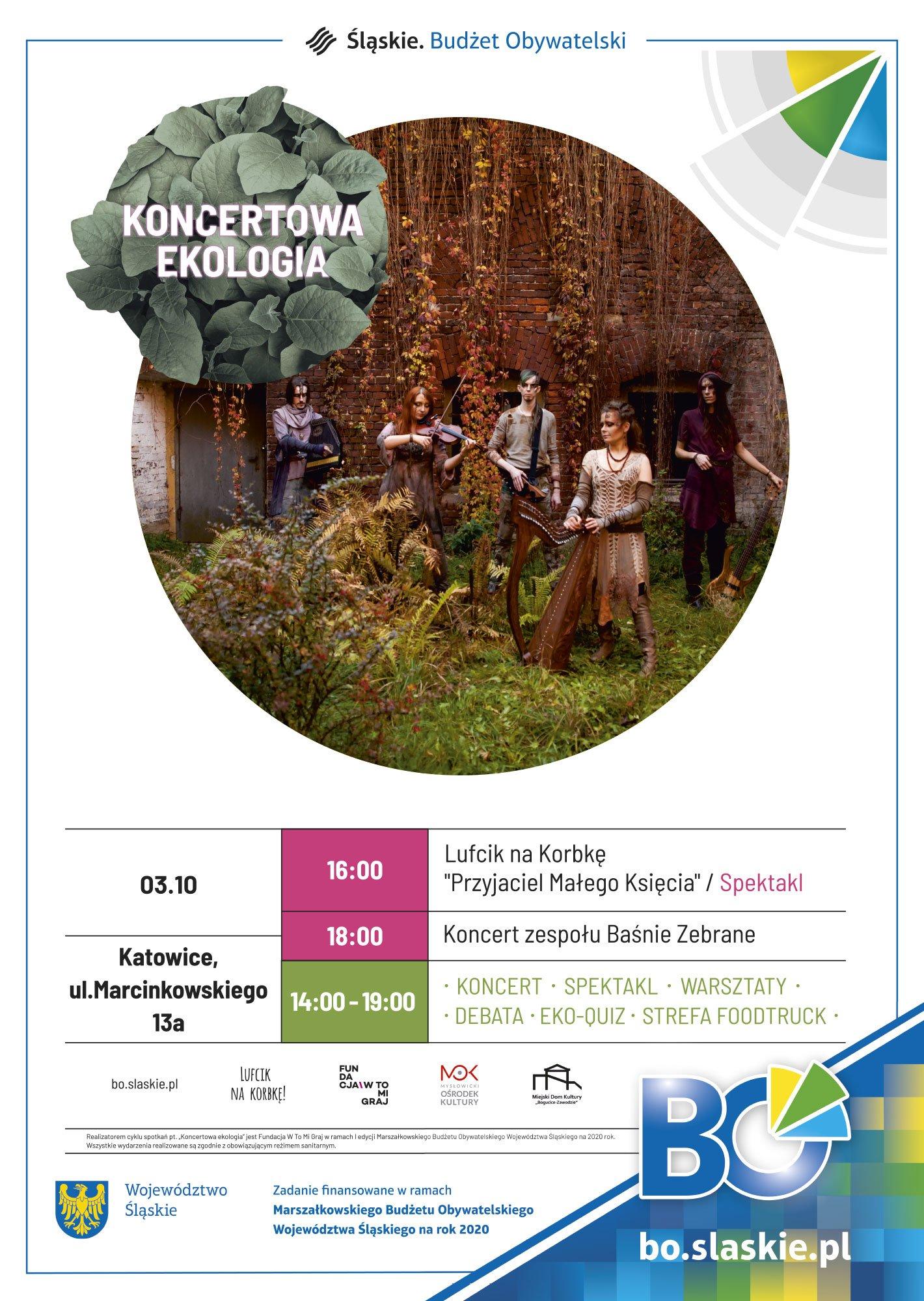 Koncertowa ekologia - z muzyką dla środowiska w Katowicach