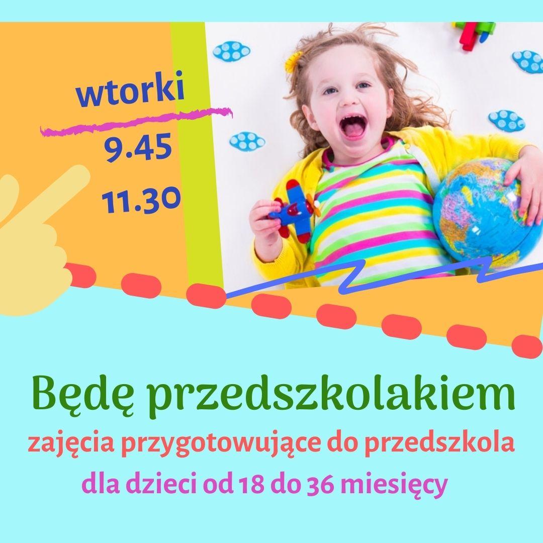Będę przedszkolakiem – zajęcia adaptacyjne w Nutka Cafe
