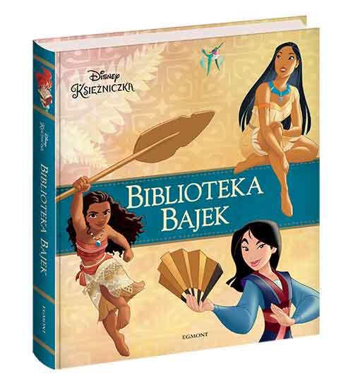 Disney Księżniczka. Biblioteka Bajek - kolekcja osiemnastu opowiadań