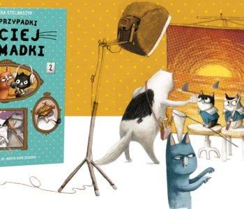 Nowe przypadki kociej gromadki wesoła książka o kotach dla dzieci