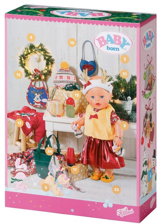 kalendarz adwentowy Baby Born