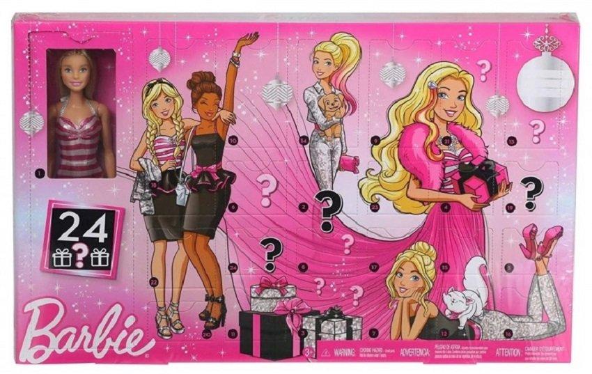 kalendarz adwentowy Barbie