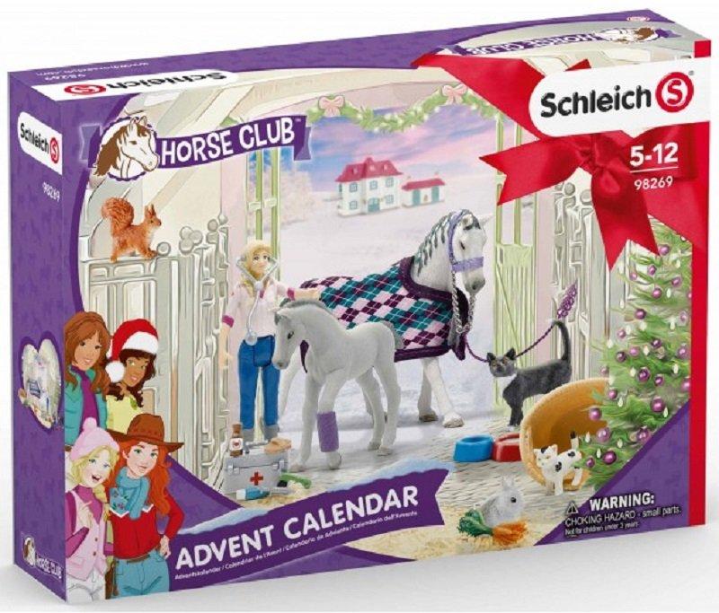kalendarz adwentowy Schleich