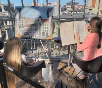 Ponad 1000 godzin pracy nad projektem Making cities vibe w Katowickiej