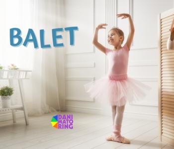 Balet dla dzieci - bezpłatne zajęcia próbne