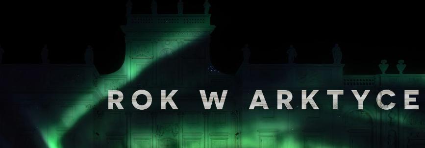 Mapping 3d ROK W ARKTYCE na fasadzie Pałacu w Wilanowie!
