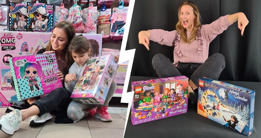 Odliczanie dni do świąt Bożego Narodzenia – kalendarze adwentowe 2020 z zabawkami