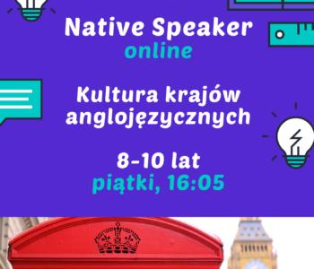 Poznaj kulturę krajów anglojęzycznych z Native Speakerem