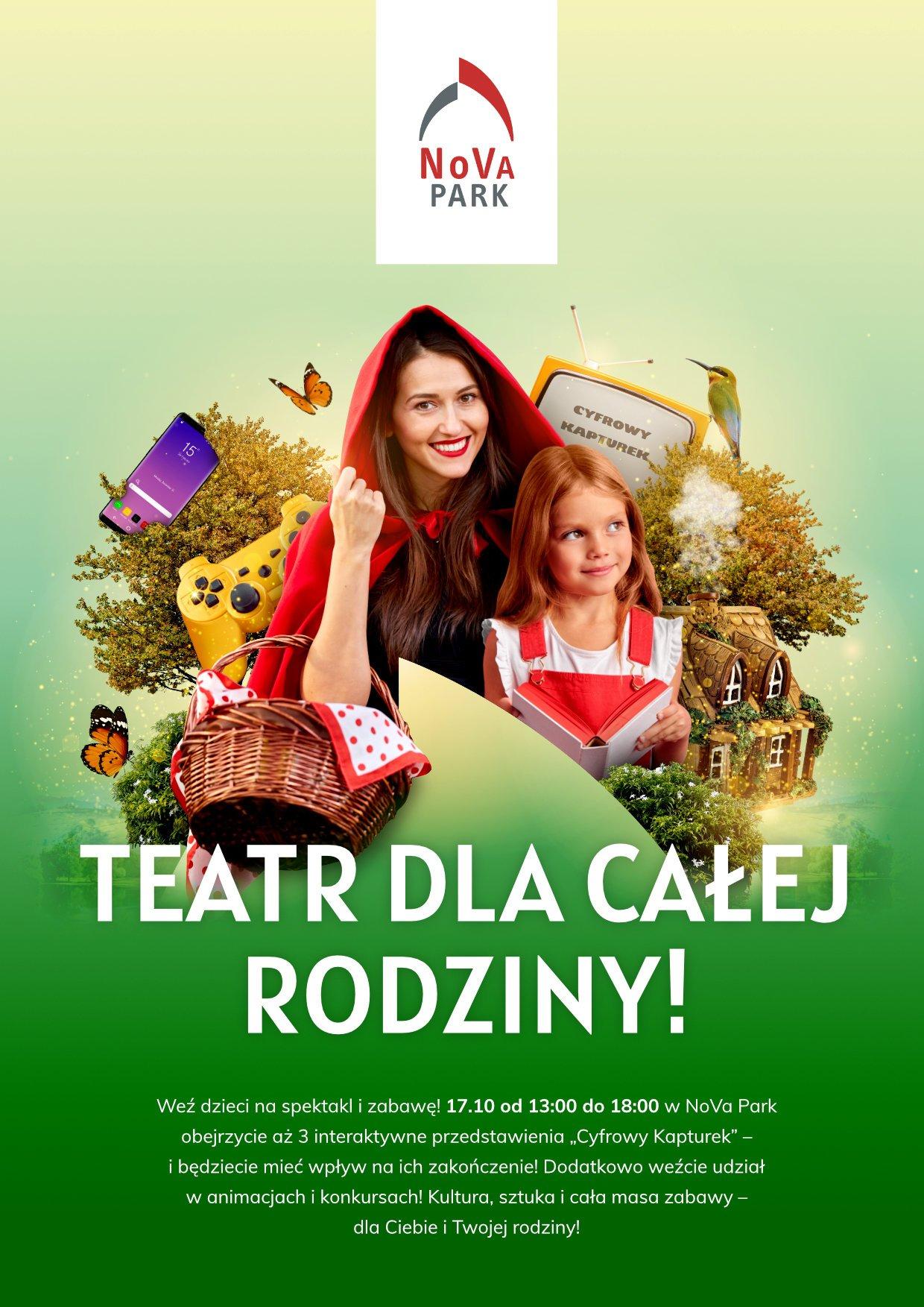 Teatr familijny w NoVa Park