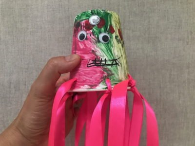 Ośmiornica zabawa plastyczna dla dzieci