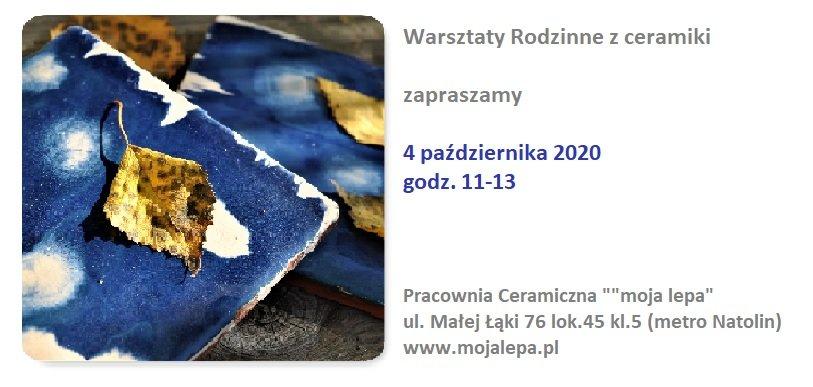 Warsztaty Rodzinne z ceramiki