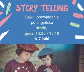 Storytelling – bajki i opowiadania z Native Speaker