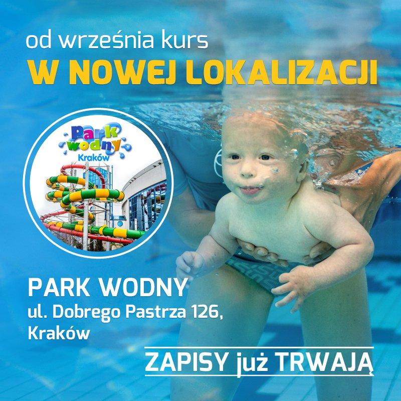 Kurs pływania dla niemowląt