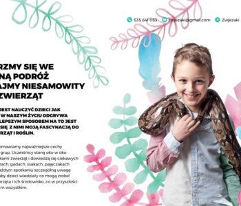 Mikołajkowe warsztaty ze zwierzętami – Węże i Ognista Gwatemala