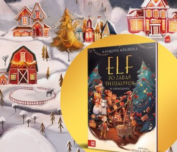 Elf do zadań specjalnych – książkowy kalendarz adwentowy