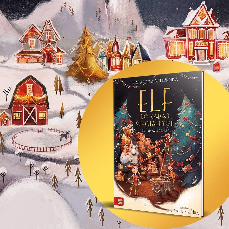 Elf do zadań specjalnych - książkowy kalendarz adwentowy