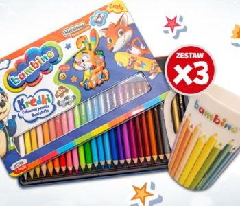 Konkurs obrazkowy list do Mikołaja kredki Bambino konkursy dla dzieci