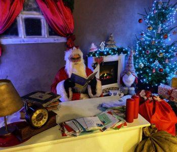 Wirtualne spotkanie z Mikołajem w Europejskim Centrum Bajki